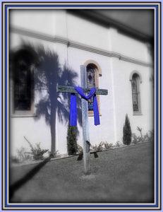 cross draped church photo walk 026